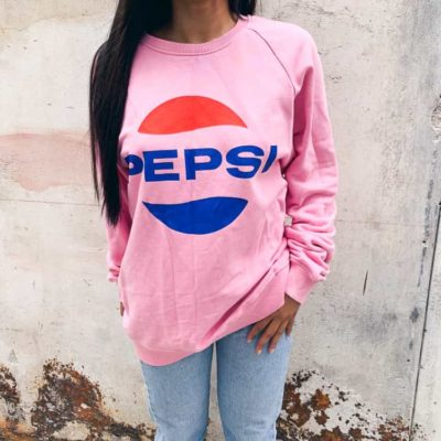 Vintage Pink Pepsi Sweatshirt