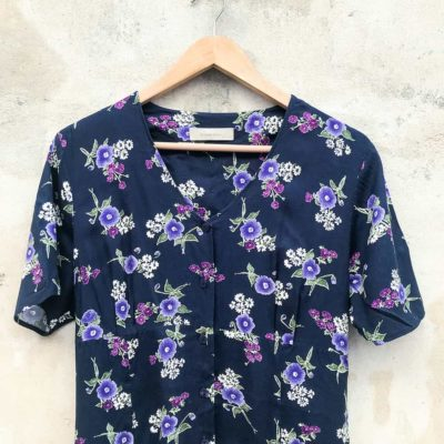 Loose Fitting Floral Dress