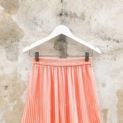 Vintage Peach Midi Skirt