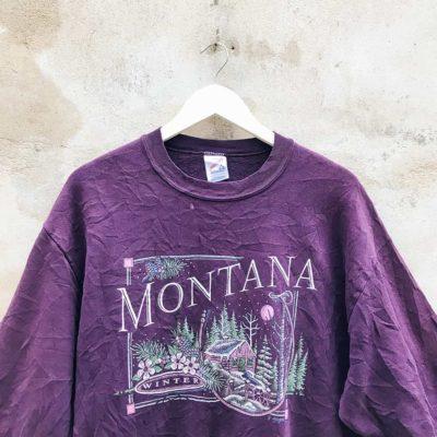 Vintage Purple Montana Sweatshirt