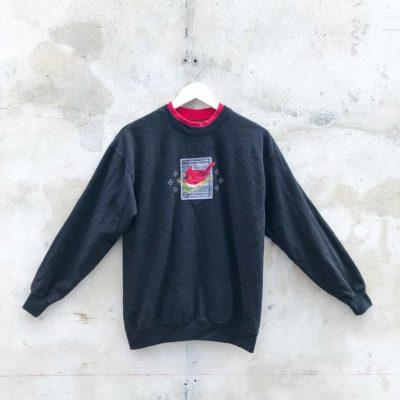 Vintage Black Cardinal Sweatshirt