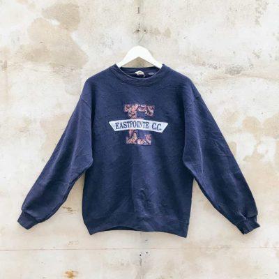 Vintage Navy Eastpointe Sweatshirt