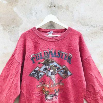 Vintage Red Fieldmaster Sweatshirt