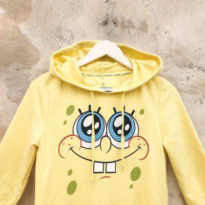 Vintage Yellow Spongebob Hoodie