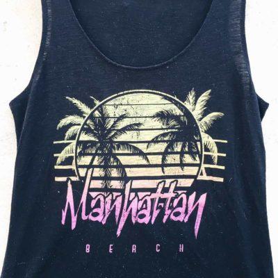 Vintage Manhattan Beach Tank Top