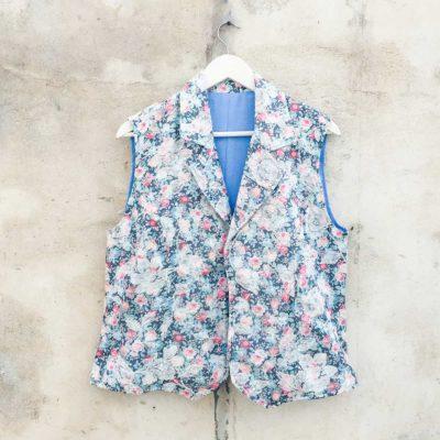 Vintage Floral Waist Coat